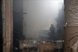 Khống chế kịp thời đám cháy trong khu công nghiệp Hòa Cầm, Đà Nẵng