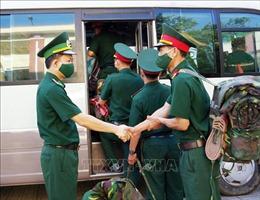 Quảng Nam: Tăng cường quân đội bảo vệ biên giới chống dịch COVID-19