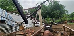 Đắk Lắk: Khẩn trương hỗ trợ người dân khắc phục hậu quả lốc xoáy