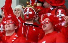 COVDID-19 làm tiêu tan 'Fan zone' của người hâm mộ Thụy Sĩ