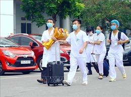 Đoàn cán bộ y tế Nghệ An xuất quân hỗ trợ Hà Tĩnh chống dịch