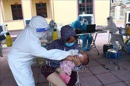 Triển khai xét nghiệm lần 6 cho người dân tại ổ dịch Mão Điền, Bắc Ninh