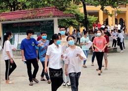 Hà Nam: Kỳ thi tuyển sinh lớp 10 diễn ra nghiêm túc, đảm bảo an toàn phòng dịch
