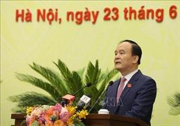 Ông Nguyễn Ngọc Tuấn được bầu lại làm Chủ tịch HĐND TP Hà Nội khóa XVI