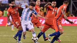 Copa America 2021: Argentina bị Chile cầm chân