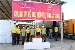 Các địa phương hỗ trợ tiêu thụ vải thiều Bắc Giang