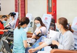 Phát động hiến máu nhân đạo, chung tay đẩy lùi dịch COVID-19
