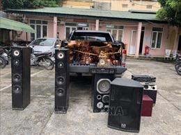 Triệt xóa ổ nhóm chuyên dùng xe bán tải đi trộm cắp tại các công sở