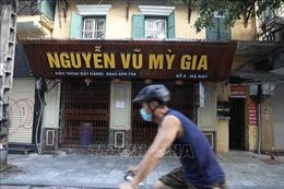 Người dân Hà Nội nghiêm túc chấp hành quy định về phòng, chống dịch