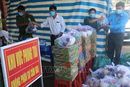 Tiền Giang: Huyện Châu Thành hỗ trợ người dân vượt qua khó khăn do dịch