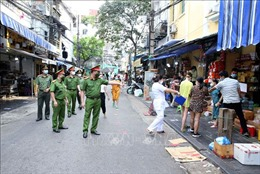 Hà Nội: Tăng cường tuần tra, xử lý nghiêm các trường hợp vi phạm Chỉ thị 16