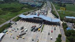 Lộ trình cho phương tiện không vào Hà Nội để tránh ùn tắc tại chốt kiểm soát