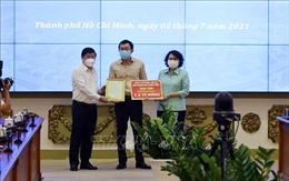 TP Hồ Chí Minh tiếp nhận hơn 279 tỷ đồng ủng hộ phòng, chống dịch COVID-19