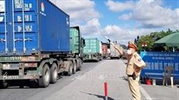 Hàng hóa gặp khó tại chốt kiểm dịch, Bộ GTVT ra công điện khẩn tháo gỡ