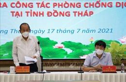 Phó Thủ tướng Trương Hòa Bình: Đồng Tháp phải triển khai ngay gói an sinh xã hội