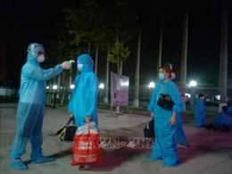 Thái Bình đón 21 học sinh trở về từ TP Hồ Chí Minh