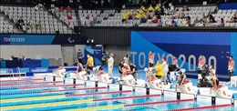 Paralympic Tokyo 2020 ngày 30/8: Bơi lội Việt Nam nỗ lực kiếm tìm huy chương