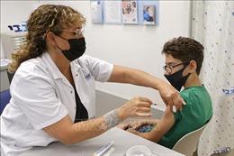 Israel mở rộng chương trình tiêm liều vaccine bổ sung