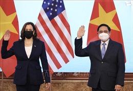 Thủ tướng Chính phủ Phạm Minh Chính tiếp Phó Tổng thống Hoa Kỳ Kamala Harris