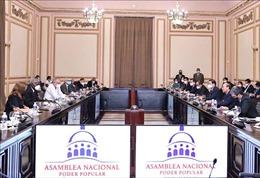 Chủ tịch nước Nguyễn Xuân Phúc hội kiến Chủ tịch Quốc hội Cuba