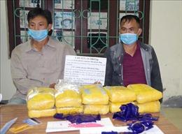 Bắt quả tang hai đối tượng mua bán 60.000 viên ma túy tổng hợp