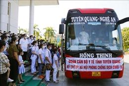 Hỗ trợ Hà Nội và TP Hồ Chí Minh chống dịch COVID-19