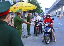Công an Hà Nội thực hiện tốt nhiệm vụ phòng, chống dịch, đảm bảo trật tự an toàn xã hội