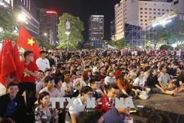 Nhiều doanh nghiệp cho công nhân nghỉ sớm để cổ vũ Olympic Việt Nam