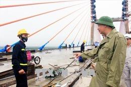 Cầu Bạch Đằng sẽ được đưa vào sử dụng trong tháng 8
