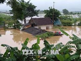Chở từng bao gạo, thùng mì tôm vào cứu đói cho đồng bào Mường Lát bị cô lập do mưa lũ