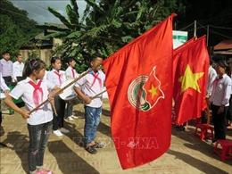 Học sinh vùng lũ Lào Cai đã có buổi khai giảng trọn vẹn