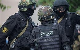 Lực lượng an ninh Nga tiêu diệt phần tử khủng bố, thu nhiều đạn dược, súng máy