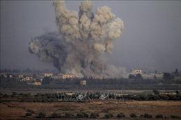 Israel tấn công tên lửa vào khu vực miền Nam Syria