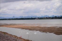Mực nước sông Mekong tại Thái Lan vẫn rất thấp