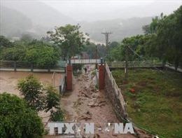 Thanh Hóa: Tạm thời cho học sinh nghỉ học sau sự cố sập trường Trung Sơn