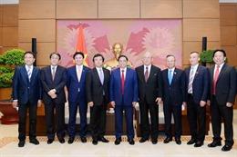 Đoàn nghị sỹ Nhật Bản thăm Việt Nam