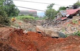 Khắc phục sự cố vỡ đập bãi thải tại Bảo Thắng, Lào Cai