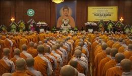 Giáo hội Phật giáo Việt Nam TP Hồ Chí Minh tưởng niệm Chủ tịch nước Trần Đại Quang