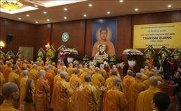 Chư tăng, phật tử Lào - Việt tại Lào cầu siêu, tưởng niệm Chủ tịch nước Trần Đại Quang