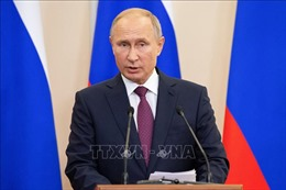 Tổng thống Liên bang Nga Vladimir Putin chia buồn việc Chủ tịch nước Trần Đại Quang từ trần