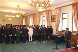 Đại sứ quán Việt Nam tại Nga tổ chức lễ viếng, mở sổ tang Chủ tịch nước Trần Đại Quang