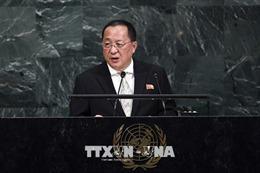 Đại hội đồng LHQ khóa 73: Ngoại trưởng Nhật Bản gặp người đồng cấp Triều Tiên