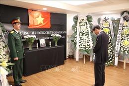 Lễ viếng và mở sổ tang Chủ tịch nước Trần Đại Quang tại Myanmar, Hàn Quốc