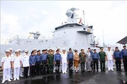 Những hình ảnh tàu Hải quân Brunei thăm thành phố Đà Nẵng