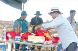 Mưa kéo dài, tạm dừng tìm kiếm hài cốt liệt sỹ tại khu vực Nông trường Dốc Miếu, Quảng Trị