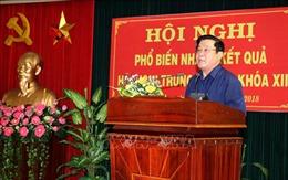 Thông báo kết quả Hội nghị lần thứ 8, Ban chấp hành Trung ương Đảng khóa XII