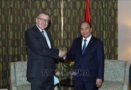Thủ tướng Nguyễn Xuân Phúc tiếp nguyên Bộ trưởng Ngoại giao Bỉ