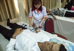350 công đoàn viên tham gia hiến máu tình nguyện