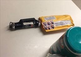 Mỹ bắt giữ một đối tượng liên quan đến các bưu kiện chứa bom