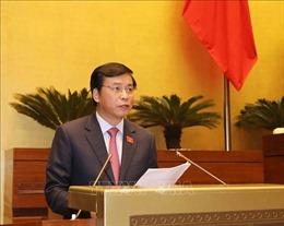 Thẩm tra việc thực hiện các nghị quyết của Quốc hội về giám sát chuyên đề và chất vấn
